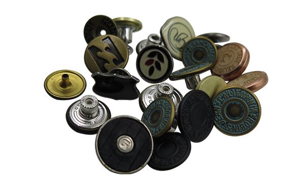 Metal snap/Tack buttons