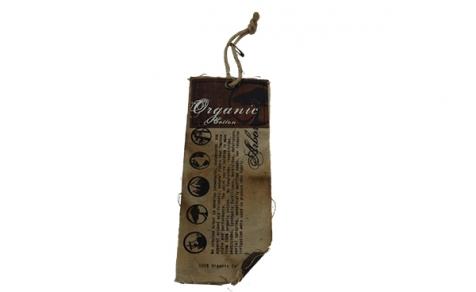 Organtic cotton hang tag
