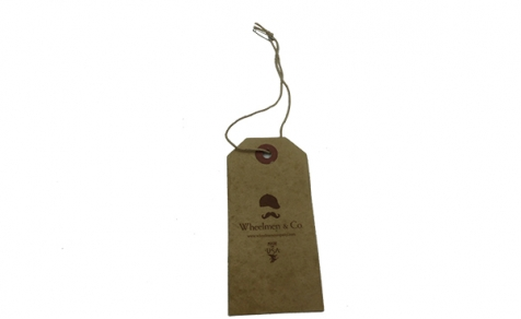 Eco-friendly hang tag for clothing