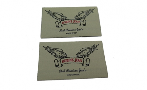 High quality custom woven label