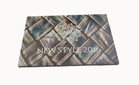 Heat transfer real leather